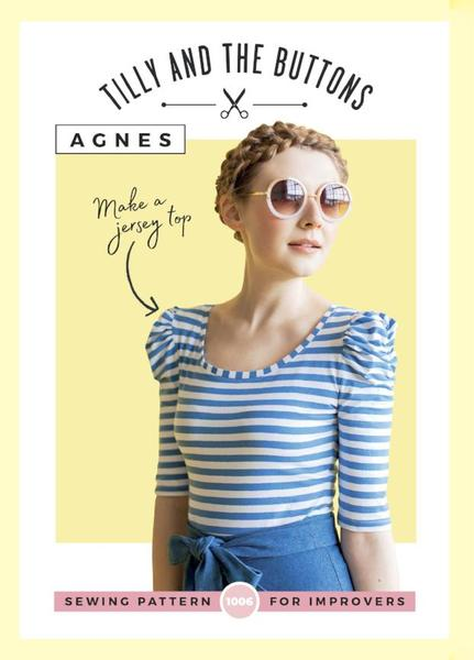 Agnes Jersey Top Pattern
