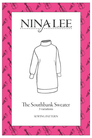 Southbank Sweater and Sweater Dress Pattern