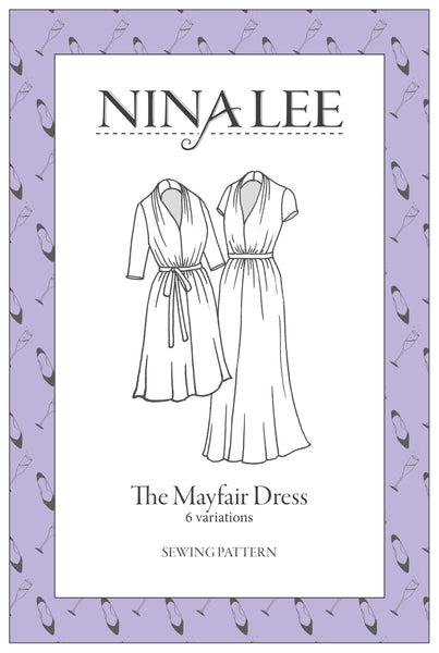 The Mayfair Dress Pattern