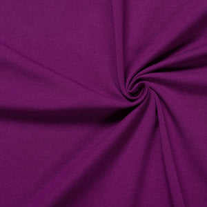 purple jersey knit fabric with spandex ideal for dressmaking