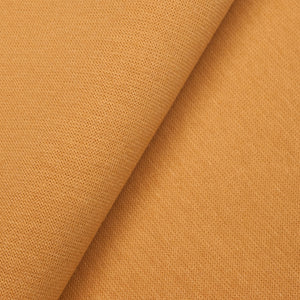 Cotton Tubular Smooth Ribbing - Mustard