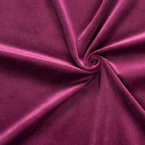 purple stretch velvet