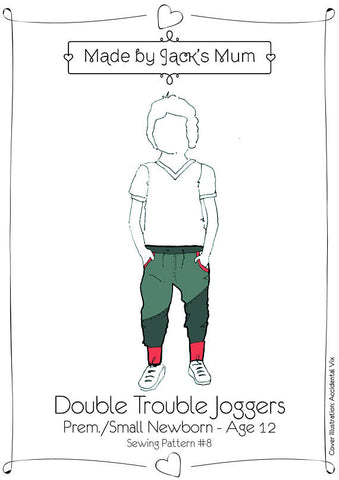 children's joggers sewing pattern