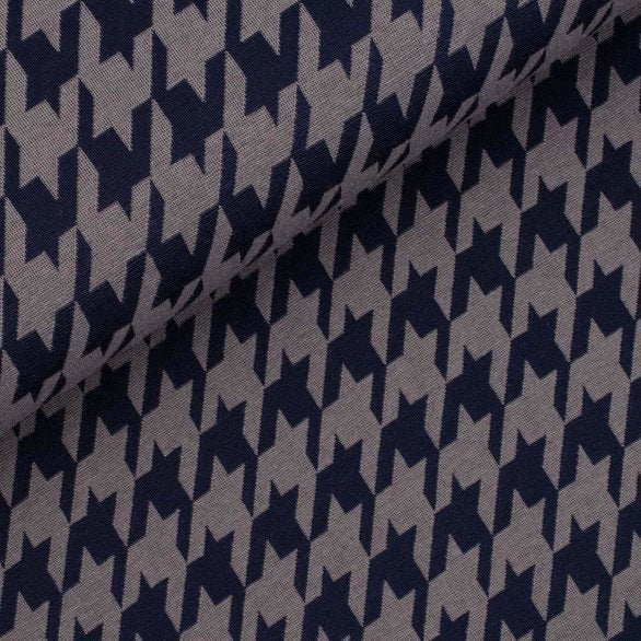 houndstooth knit fabric
