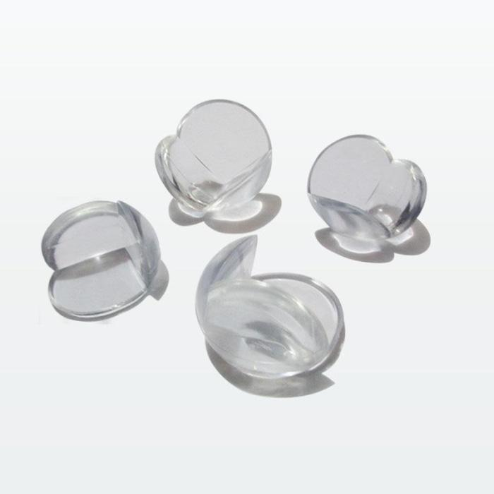 10Pcs Transparent Corner Protectors For Babies