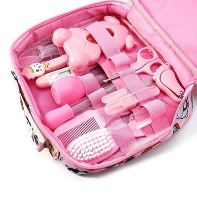 13Pcs Healthcare Accessories Kit for Babies - Pink