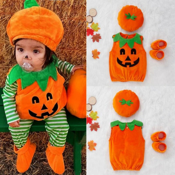 Adorable 3pc set Halloween BodySuit for Babies Unisex