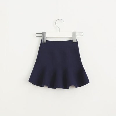 Adorable Pleated Tutu Skirt for Girls - ink / 18-24 months