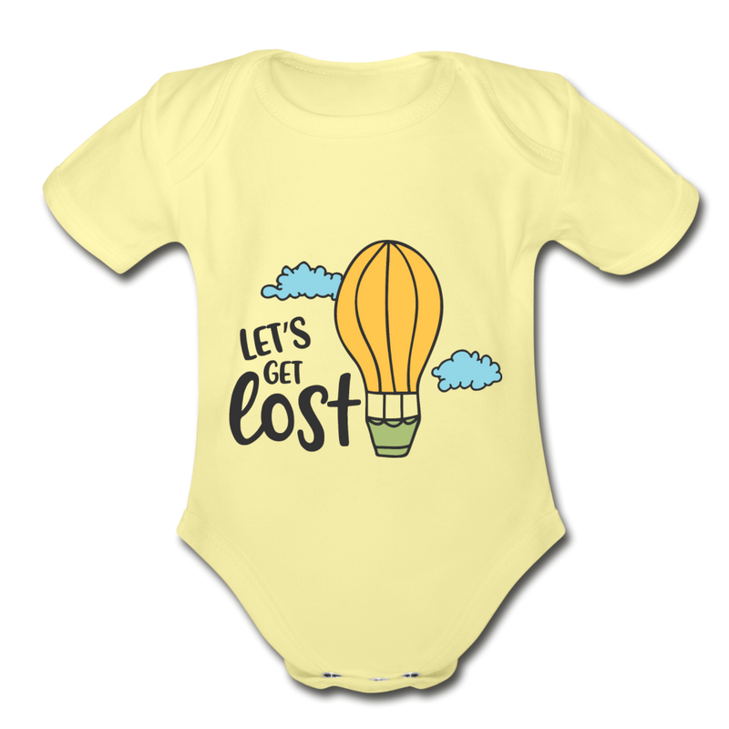 Adventure & Funny Baby Onesie Unisex - light mint