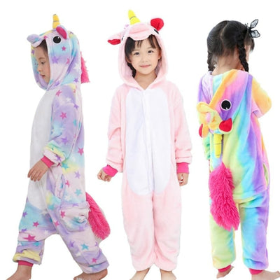 Animal theme Unisex Hooded Pajama Sleepwear sets