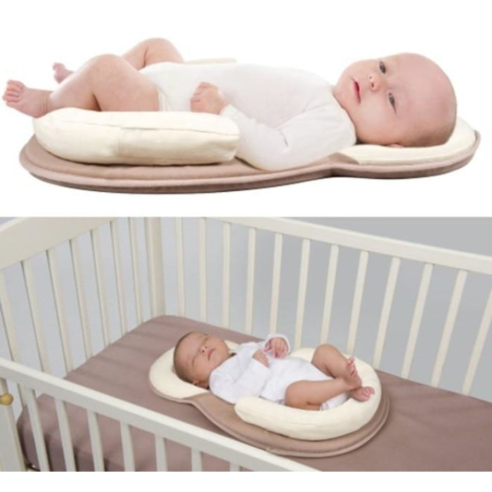 Anti-Rollover Sleep Position Mattress for 0-12 Month Babies