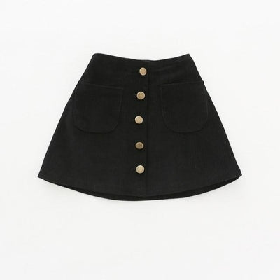 Awesome Corduroy skirt for Girls - Black / 18-24 months