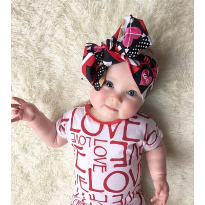 Awesome Love Print Bodysuit Babies Unisex