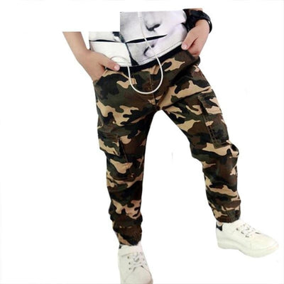 Baby Military Pants Boys Kids Pants