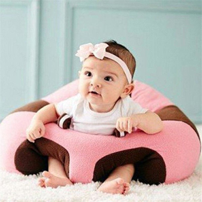 Baby Plush Support Sofa High Chair for Learning To Sit