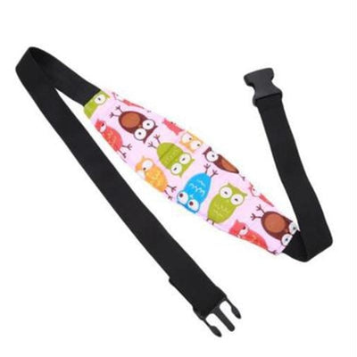 Baby Safety Sleep Positioner Head Support Fastening Belts for Car Seat & Stroller