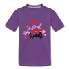 Boys T-shirt Valentine Steal your hearts - purple