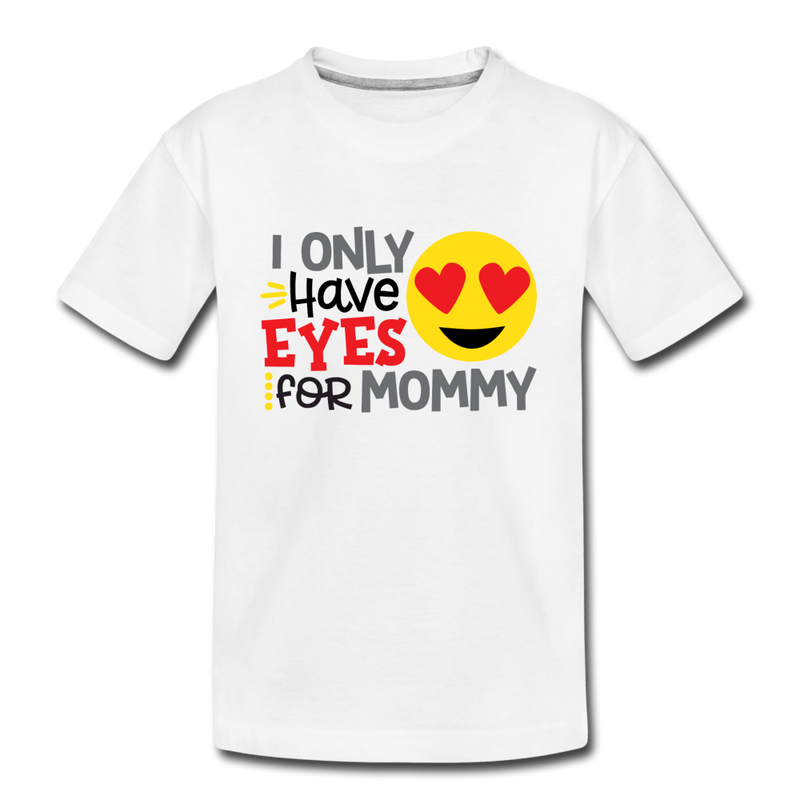 Boys Valentine T Shirt Eyes for Mommy