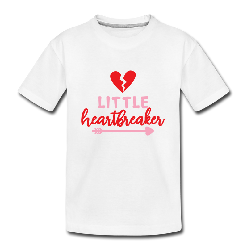 Boys Valentine T Shirt Little Heartbreaker