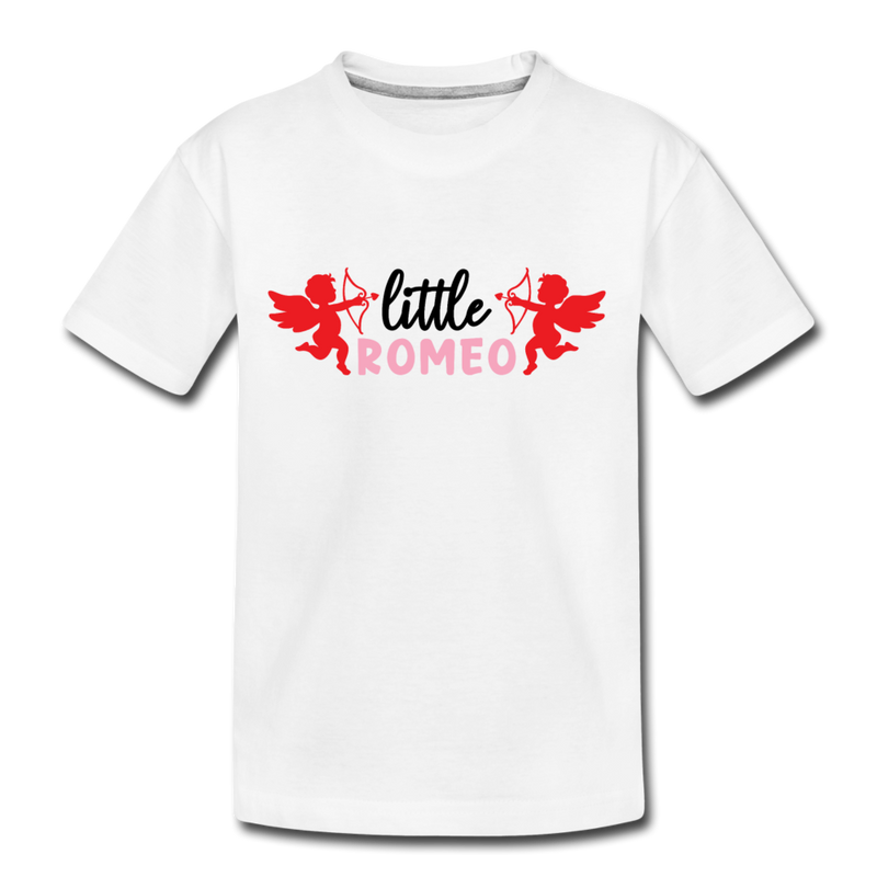 Boys Valentine T Shirt Little Romeo
