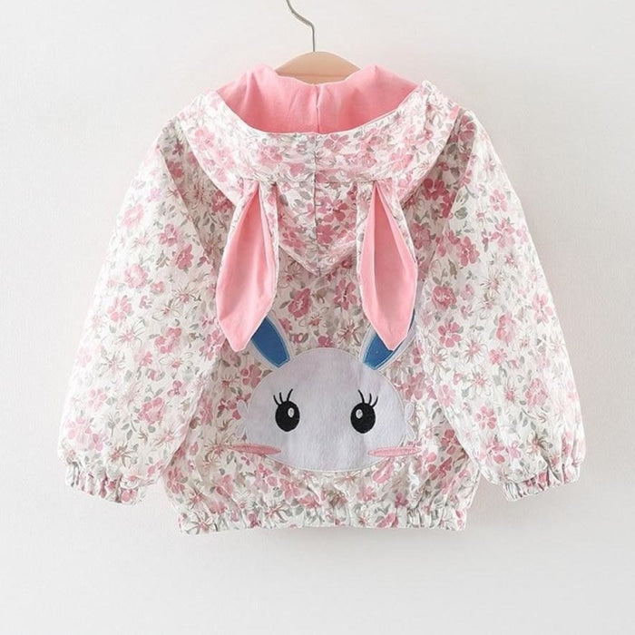 Bunny Ear Hood Jacket for Girls