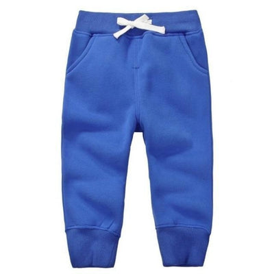 Candy Colour Unisex Drawstring Trousers for Kids - Blue / 9-12 months