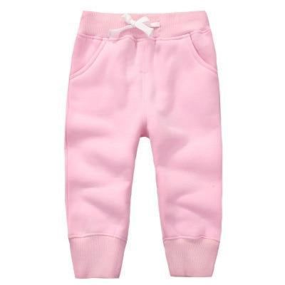 Candy Colour Unisex Drawstring Trousers for Kids - Light pink / 9-12 months