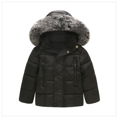 Casual Unisex Full Sleeve Hooded Jackets - black / 9-12 months
