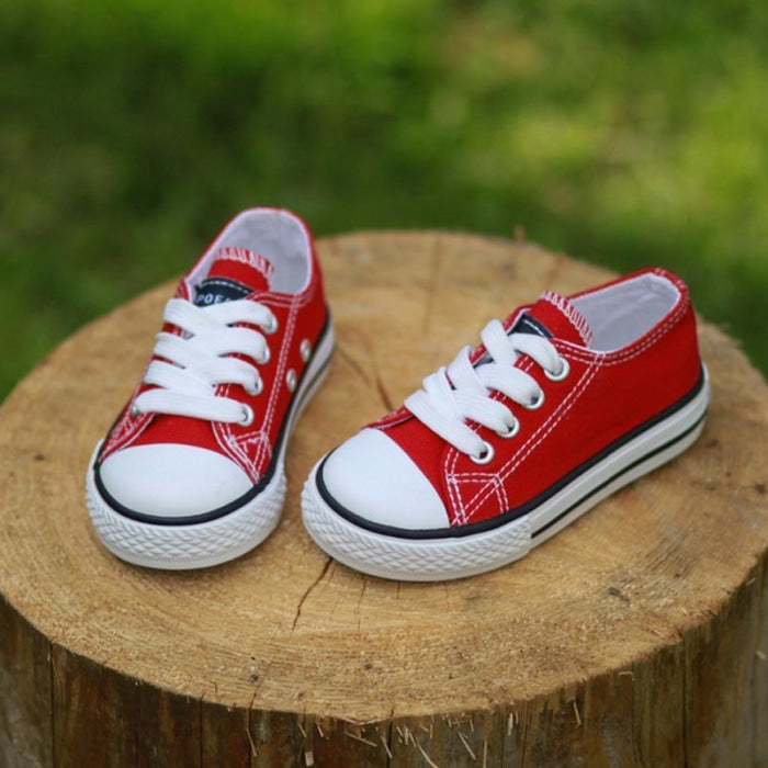 Classic Canvas Sneakers Shoes for Kids Unisex