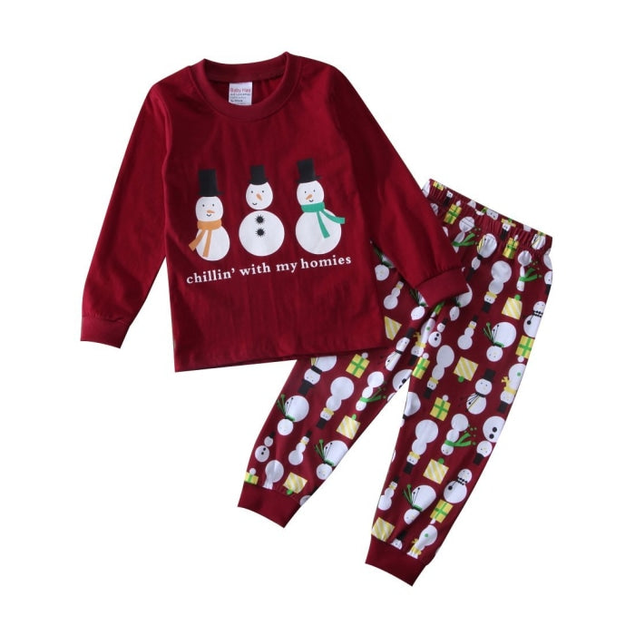 Cotton Pajama Sleepwear Set