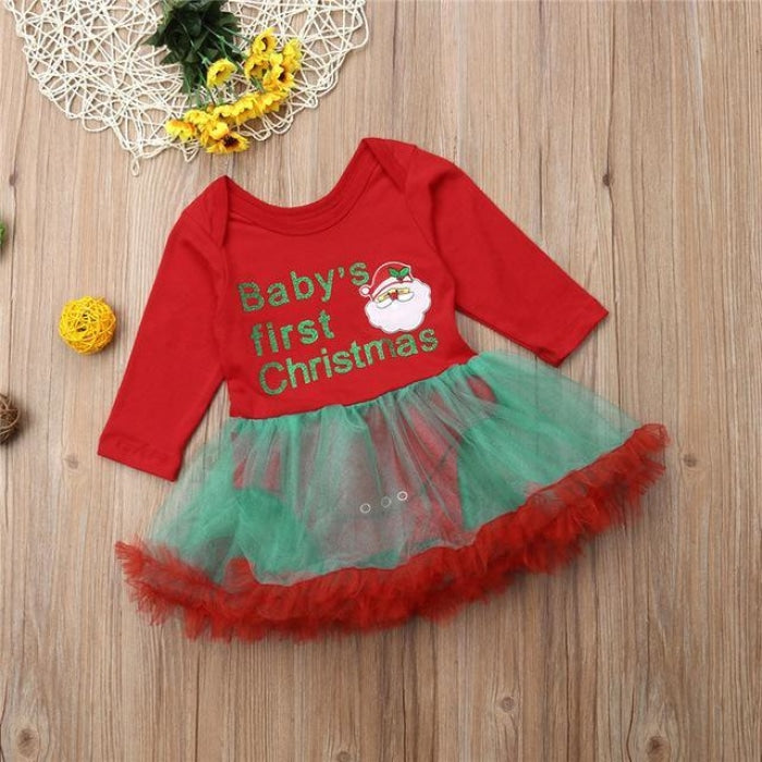 Cotton Printed Tutu Skirt for Baby Girls
