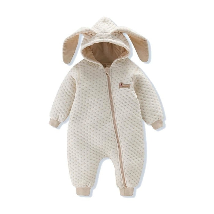 Cozy and Snuggly Animal Style Romper for Baby