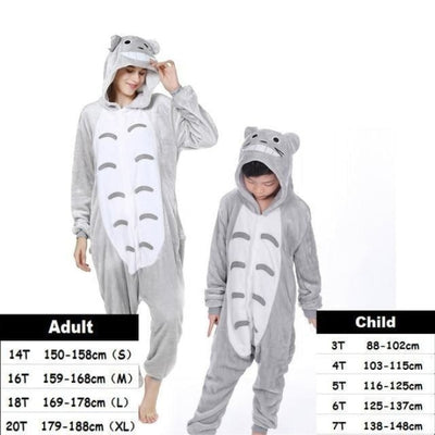 Cute Animal Cartoon Pajama Sleepwear Set for Boys & Girls