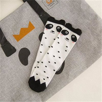 Cute Animal pattern Socks set for Kids Babies - White / 1-3 years