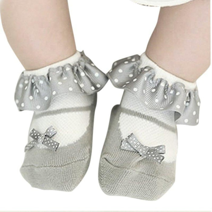 Cute Bowknot Baby Girl Socks Toddler