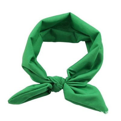 Cute candy colour headband for Baby Girls - green