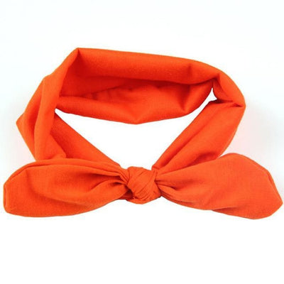Cute candy colour headband for Baby Girls - orange
