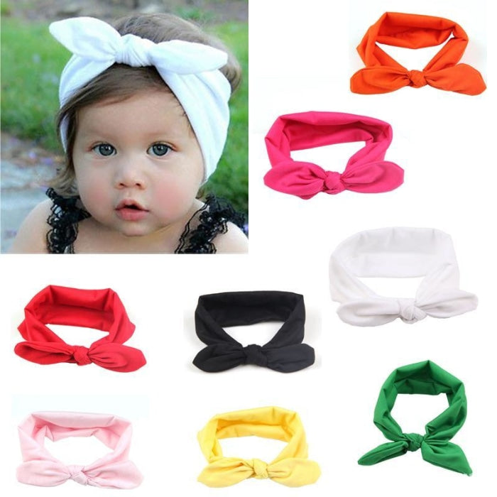 Cute candy colour headband for Baby Girls