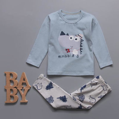Cute Car clothing set for boys - Light Blue / 18-24 months