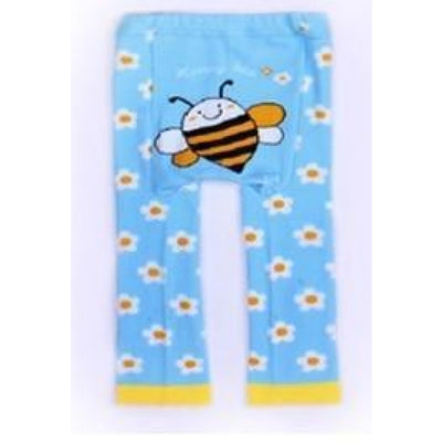 Cute Cartoon Animal Pattern Leggings Girls - Bees / 6-9 months