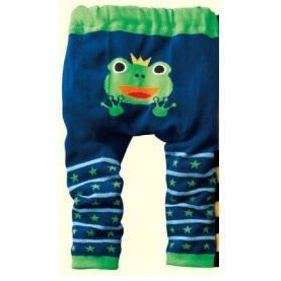 Cute Cartoon Animal Pattern Leggings Girls - Frog 3 / 6-9 months