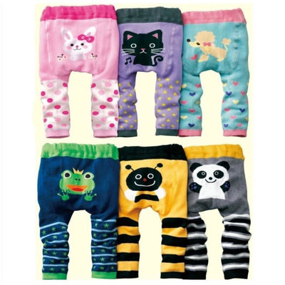 Cute Cartoon Animal Pattern Leggings Girls