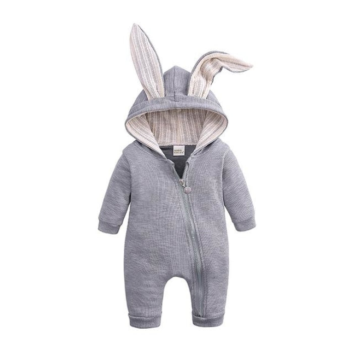 Cute Easter Bunny Jumpsuit for Babies Unisex