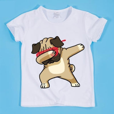 Cute Funny Dancing Animal T-shirt Kids Unisex - Dog / 2-3 years