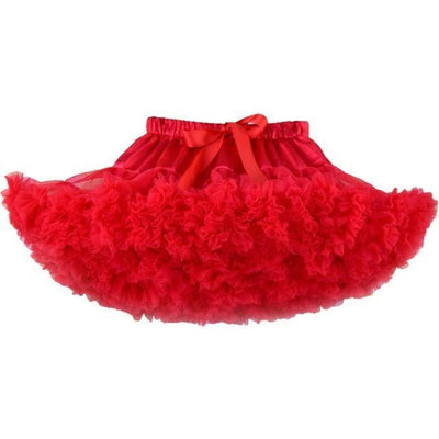 Cute Ruffle Ball gown Skirt for Girls