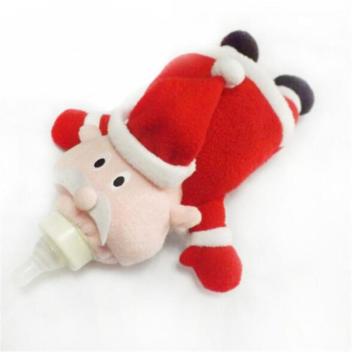 Cute Santa Babys Feeding Bottle Insulation Bag Holder