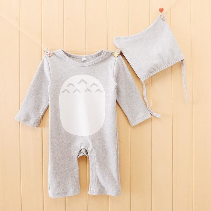 Cute Totoro Cartoon Jumpsuit for Baby Boys