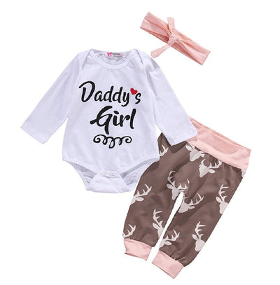 Daddy's Girl 3 pc Set - 0-3 months