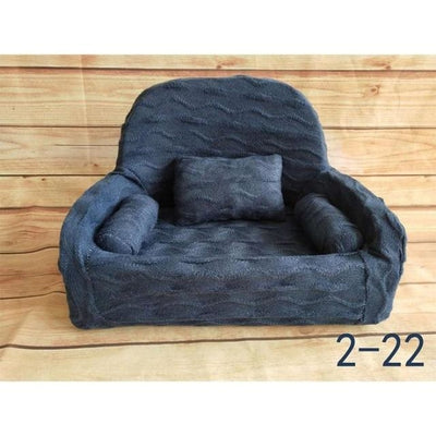 Decorative Sofa Photo Props for Baby Unisex - Blue-22S