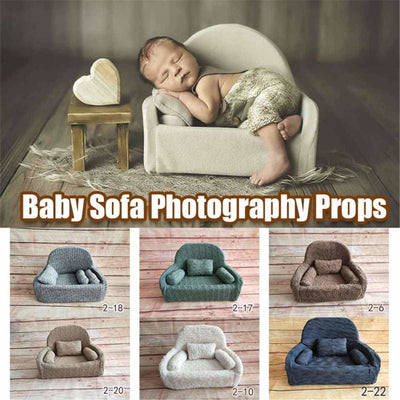 Decorative Sofa Photo Props for Baby Unisex